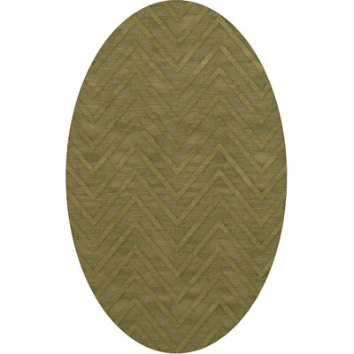 Dover Leaf Area Rug Rug Size: Oval 12 x 15