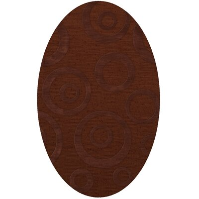 Dover Paprika Area Rug Rug Size: Oval 6 x 9