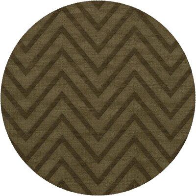 Dover Leaf Area Rug Rug Size: Round 4