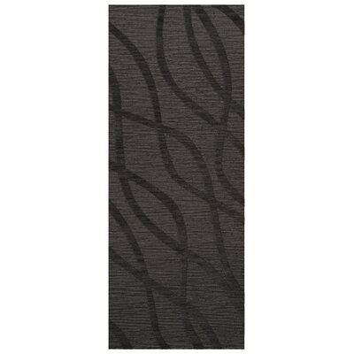 Dover Ash Area Rug Rug Size: Runner 26 x 12