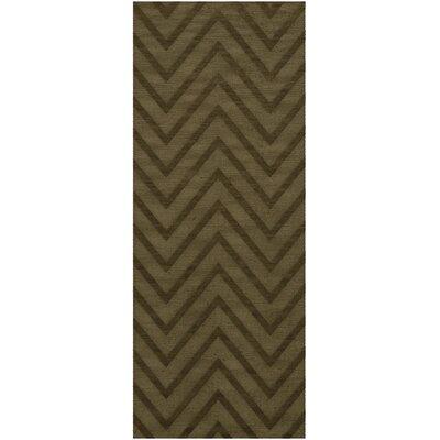 Dover Leaf Area Rug Rug Size: Runner 26 x 10