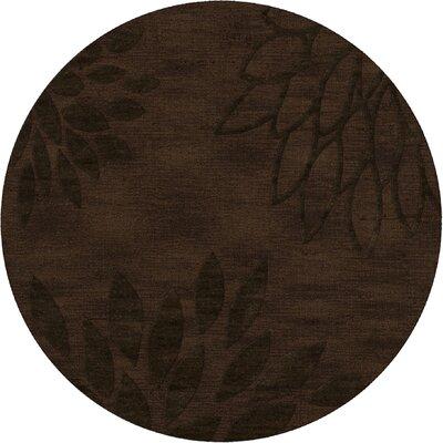 Bao Fudge Area Rug Rug Size: Round 6