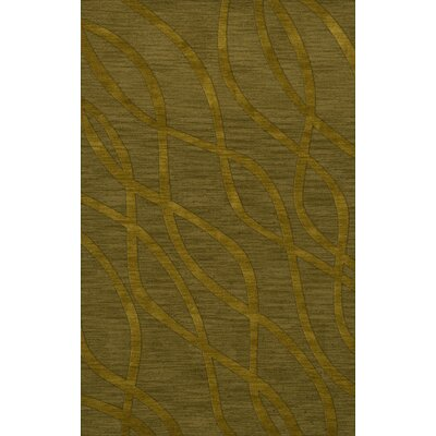 Dover Tufted Wool Avocado Area Rug Rug Size: Rectangle 5 x 8