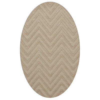 Dover Linen Area Rug Rug Size: Oval 5 x 8