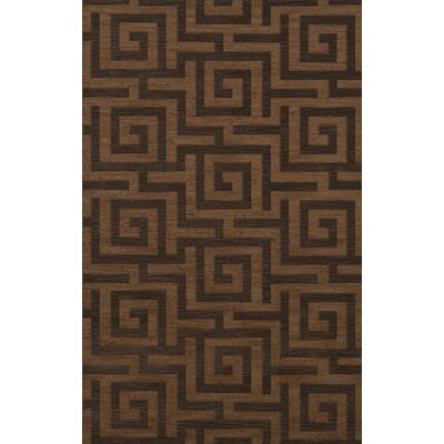 Dover Tufted Wool Caramel Area Rug Rug Size: Rectangle 8 x 10