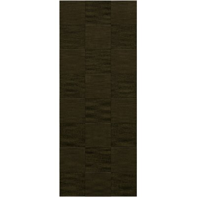 Dover Tufted Wool Olive Area Rug Rug Size: Runner 26 x 12