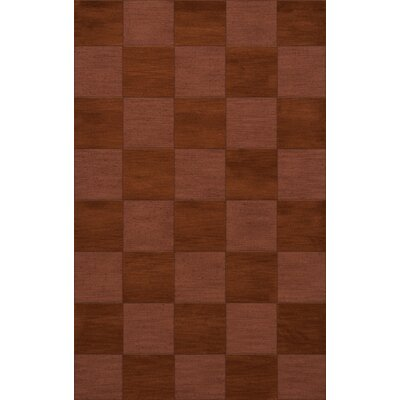 Dover Tufted Wool Spice Area Rug Rug Size: Rectangle 6 x 9