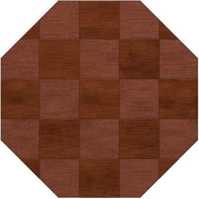 Dover Tufted Wool Spice Area Rug Rug Size: Octagon 10