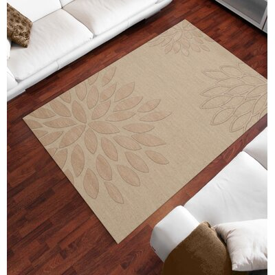 Bao Linen Area Rug Rug Size: Rectangle 6' x 9'