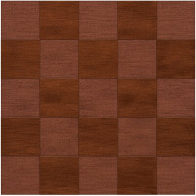 Dover Tufted Wool Spice Area Rug Rug Size: Square 10