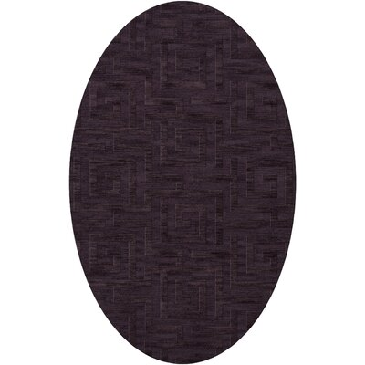 Dover Grape Ice Area Rug Rug Size: Oval 10 x 14