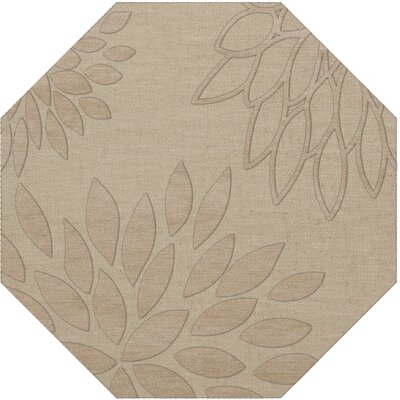 Bao Linen Area Rug Rug Size: Octagon 10'