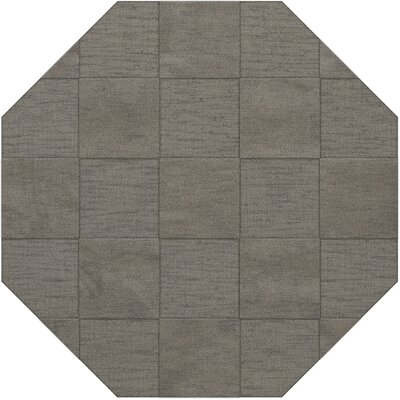 Dover Silver Area Rug Rug Size: Octagon 12