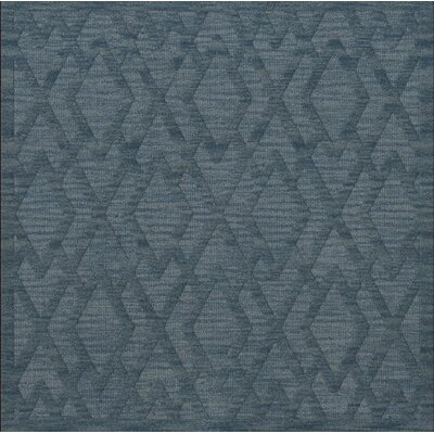 Dover Tufted Wool Sky Area Rug Rug Size: Square 10