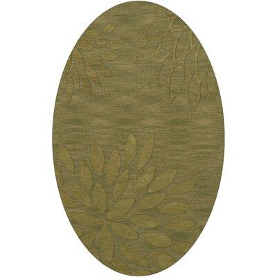 Bao Pear Area Rug Rug Size: Oval 10 x 14