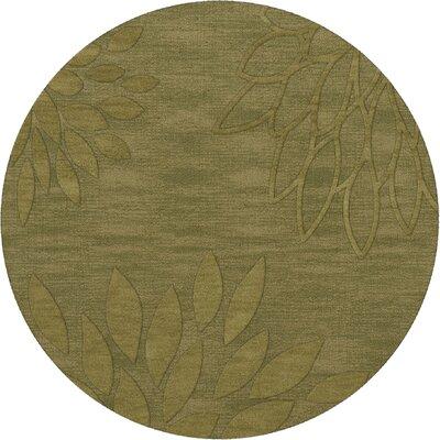 Bao Pear Area Rug Rug Size: Round 12