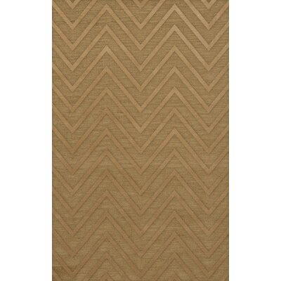 Dover Tufted Wool Wheat Area Rug Rug Size: Rectangle 5 x 8