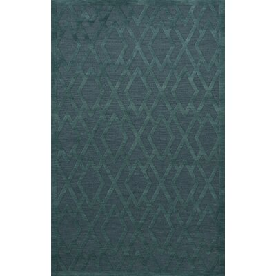Dover Teal Area Rug Rug Size: Rectangle 10 x 14