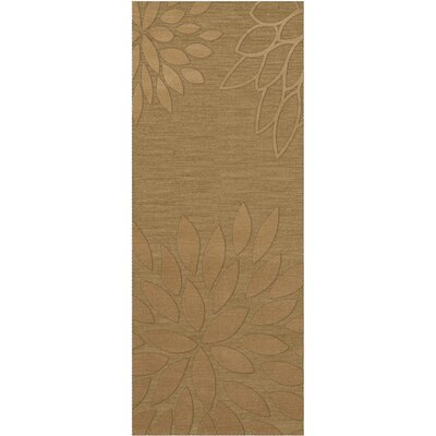 Bao Wheat Area Rug Rug Size: Runner 26 x 8