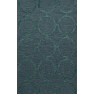 Dover Tufted Wool Teal Area Rug Rug Size: Rectangle 6 x 9