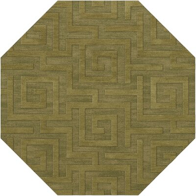 Dover Tufted Wool Pear Area Rug Rug Size: Octagon 4