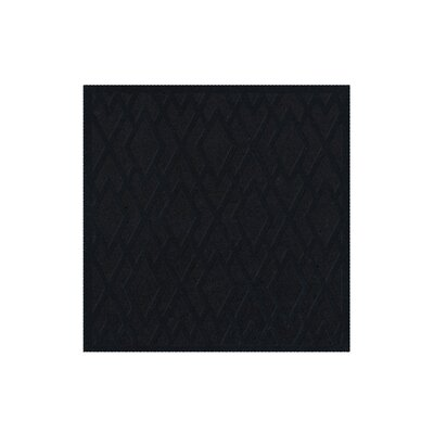 Dover Black Area Rug Rug Size: Square 10