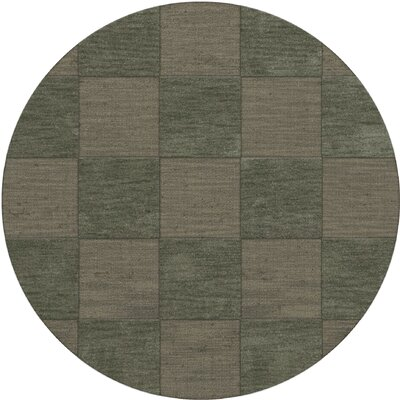 Dover Aloe Area Rug Rug Size: Round 4