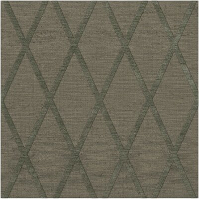 Dover Tufted Wool Aloe Area Rug Rug Size: Square 4