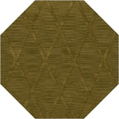 Dover Tufted Wool Avocado Area Rug Rug Size: Octagon 12