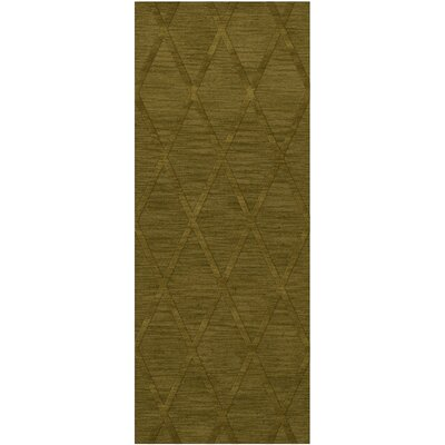Dover Tufted Wool Avocado Area Rug Rug Size: Runner 26 x 12