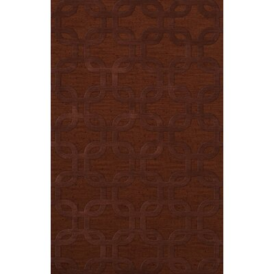 Dover Paprika Area Rug Rug Size: Rectangle 4' x 6'