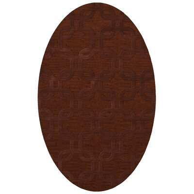 Dover Paprika Area Rug Rug Size: Oval 9 x 12