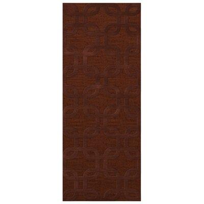 Dover Paprika Area Rug Rug Size: Runner 26 x 10