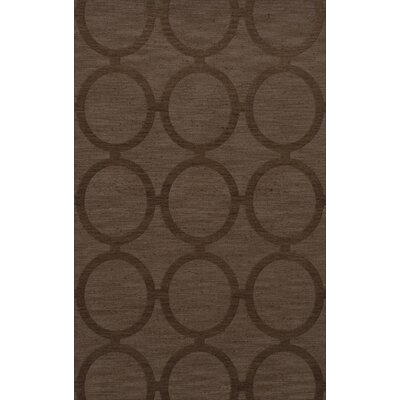Dover Tufted Wool Mocha Area Rug Rug Size: Rectangle 5' x 8'