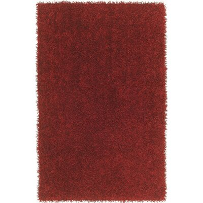 Belize Red Area Rug Rug Size: Rectangle 9 x 13