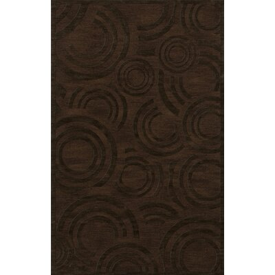 Dover Tufted Wool Fudge Area Rug Rug Size: Rectangle 5 x 8