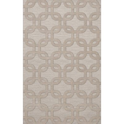 Dover Putty Area Rug Rug Size: Rectangle 6 x 9