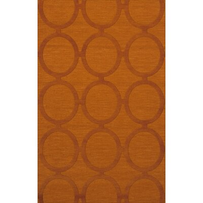 Dover Orange Area Rug Rug Size: Rectangle 8 x 10