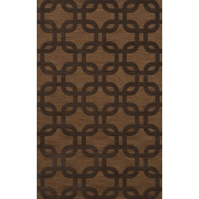 Dover Caramel Area Rug Rug Size: Rectangle 12 x 18
