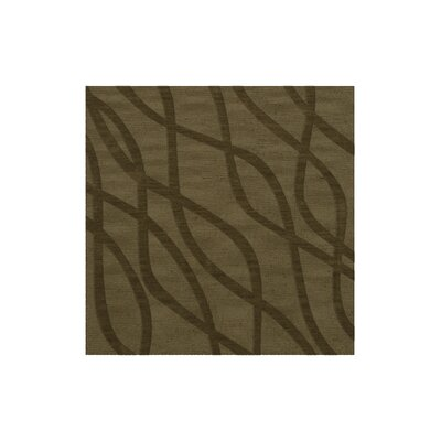 Dover Tufted Wool Leaf Area Rug Rug Size: Square 10