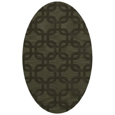Dover Fern Area Rug Rug Size: Oval 8 x 10