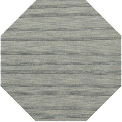 Dover Tufted Wool Sea Glass Area Rug Rug Size: Octagon 8
