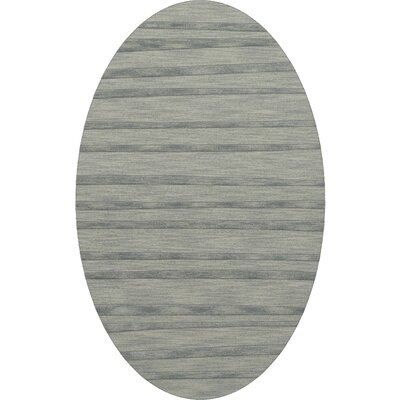 Dover Tufted Wool Sea Glass Area Rug Rug Size: Oval 6 x 9