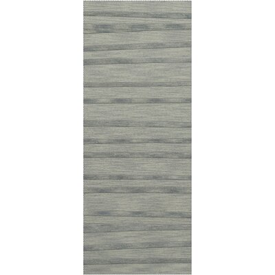 Dover Tufted Wool Sea Glass Area Rug Rug Size: Runner 26 x 10
