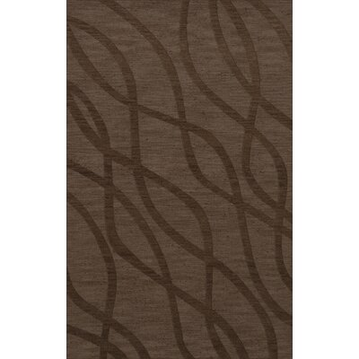 Dover Tufted Wool Mocha Area Rug Rug Size: Rectangle 5 x 8