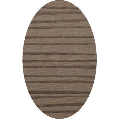 Dover Stone Area Rug Rug Size: Oval 10 x 14