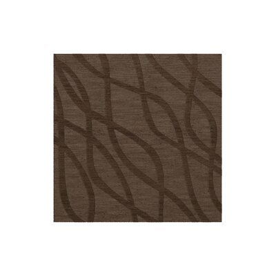 Dover Tufted Wool Mocha Area Rug Rug Size: Square 10