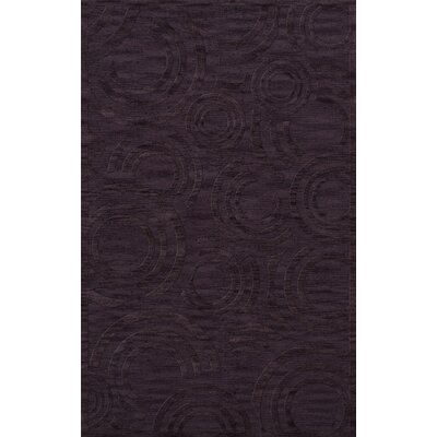 Dover Tufted Wool Grape Ice Area Rug Rug Size: Rectangle 8 x 10