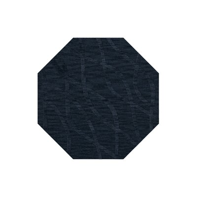Dover Navy Area Rug Rug Size: Octagon 8