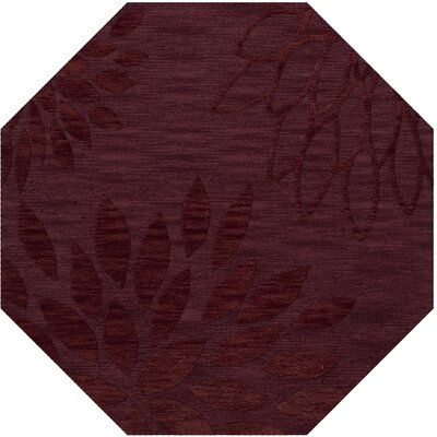 Bao Burgundy Area Rug Rug Size: Rectangle 6 x 9